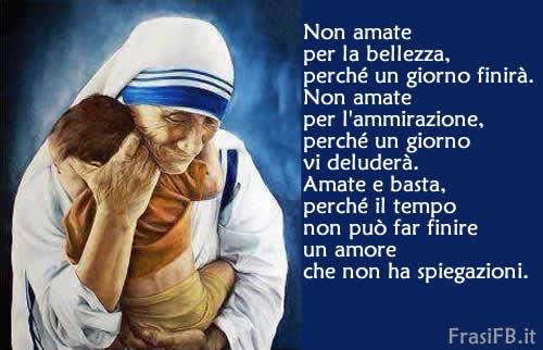 Très Frase di Madre Teresa di Calcutta da condividere YO06