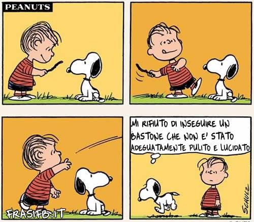 Le Frasi Piu Belle Di Snoopy Vignette Charlie Brown Per